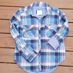 Perfect Fall Flannel Shirt